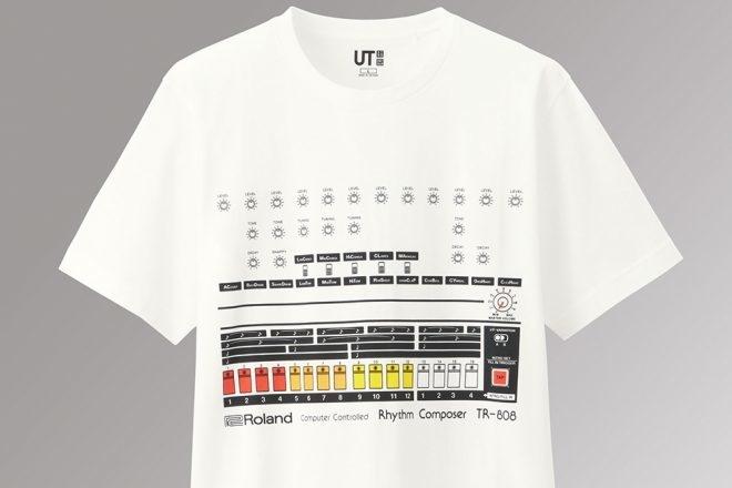 Roland et Uniqlo lancent une collection de t-shirts TR-808