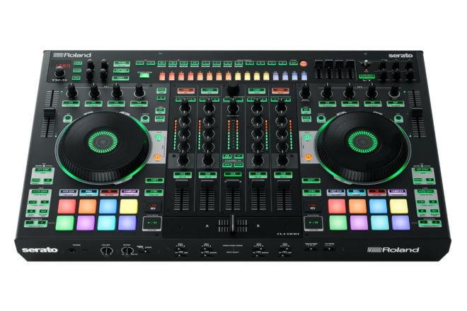 Roland et Serato dévoilent leur contrôleur DJ-808