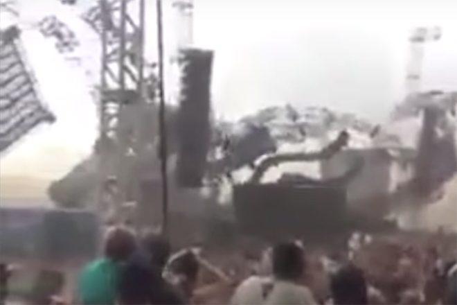 Brésil : un DJ tué, plusieurs blessés suite à l'effondrement de la scène d'un festival