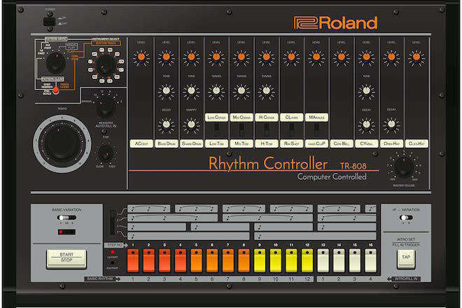 Roland dépose une demande de brevet pour les TB-303 et TR-808