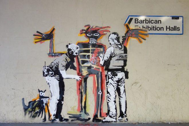 Banksy rend hommage à Jean-Michel Basquiat avec deux nouvelles œuvres