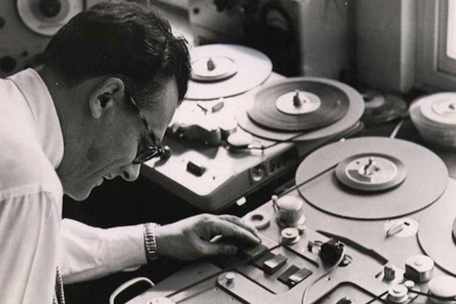 Les trois grandes ères de l'enregistrement pré-numérique en 18 photos d'archives (1877-1975)