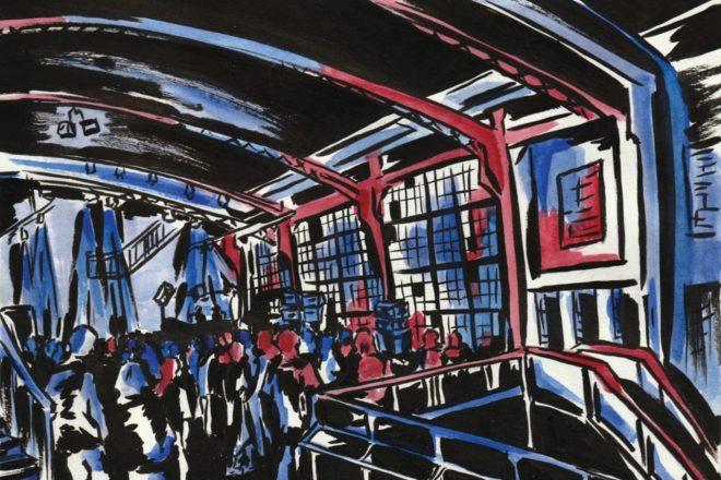 Une artiste a dessiné le dancefloor des meilleurs clubs de Berlin
