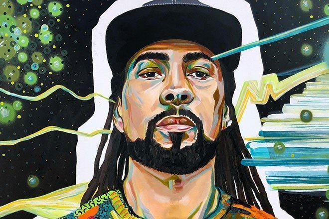 Une peintre a fait le portrait les grands noms de la la jungle et de la drum'n'bass